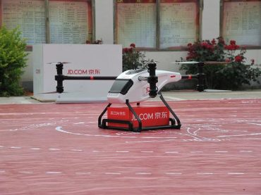 JD.com Is Building 150 Drone Launch Centers